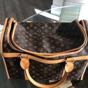 SOLD.Louis Vuitton monogram sac chien 40 pet SOLD